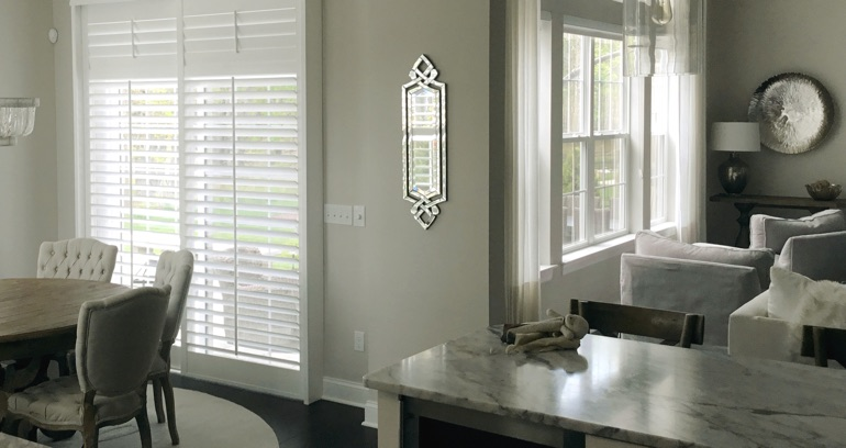 Austin kitchen patio door shutters
